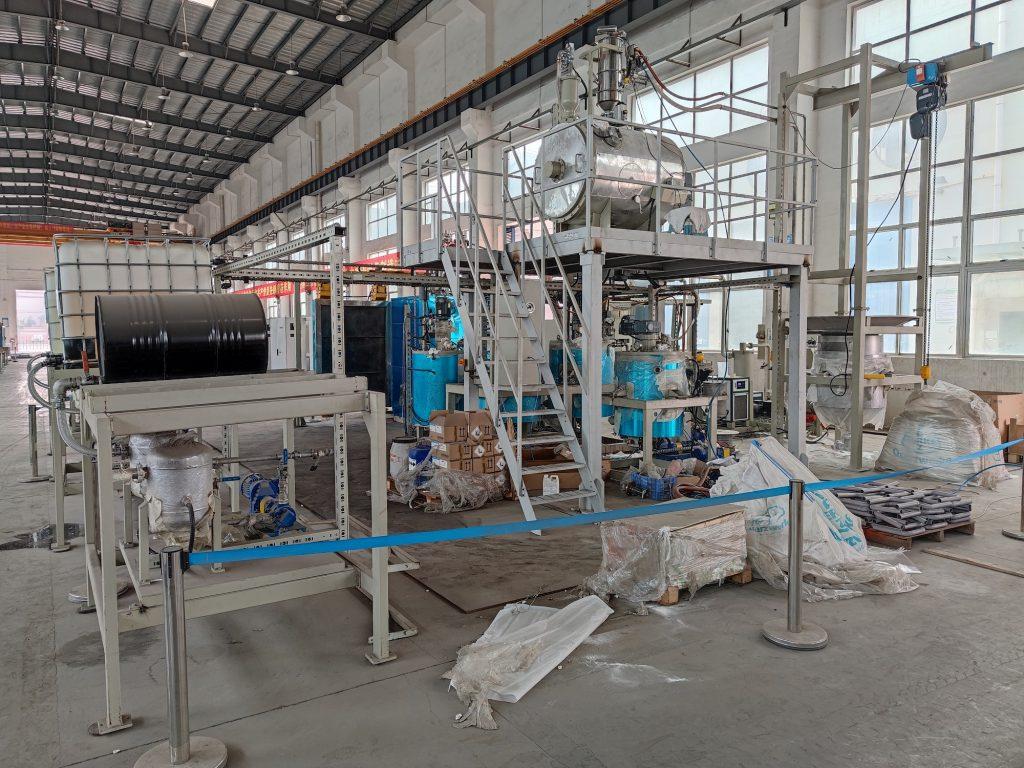 Kontrola fabryki suszarek przemysłowych